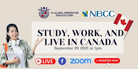 FREE WEBINAR: STUDY, WORK AND LIVE ABROAD WITH NBCC tickets