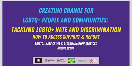 Bristol Hate Crime and Discrimination LGBTQ+ community listening forum tickets