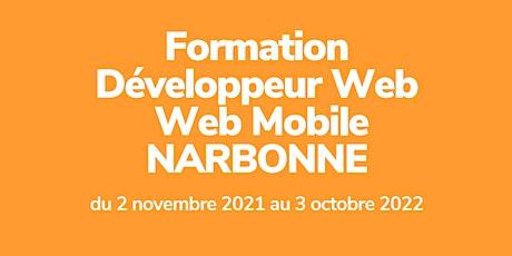 INFO CO - NARBONNE / Dev Web et Web Mobile - Simplon (présentiel) billets