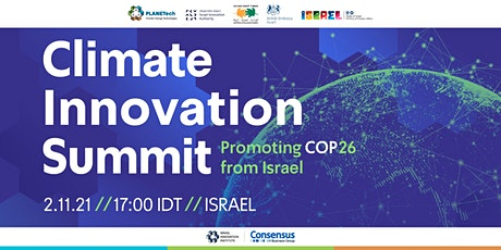 Climate Innovation Summit 2021 tickets