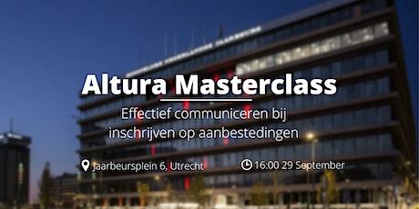 Masterclass - Effectief communiceren bij inschrijven op aanbestedingen tickets