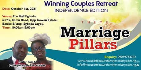 WINNING COUPLES RETREAT OCTOBER 2021 EDITION tickets