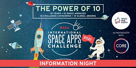 NASA Space Apps Challenge 2021 Perth Information Night tickets