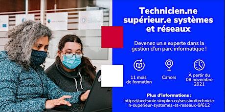 INFO CO - CAHORS / Tech Sup Syst et Réseaux - Simplon Greta (en présentiel) billets