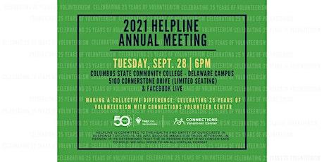 2021 HelpLine Annual Meeting tickets