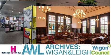 Heritage Open Days - Behind the Scenes Tours of Archives: Wigan & Leigh tickets