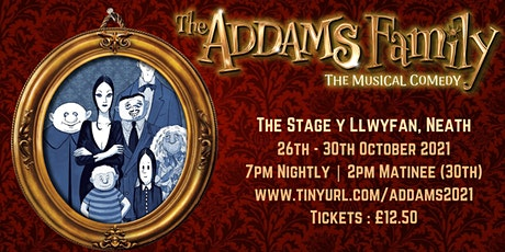 ADDAMS FAMILY THE MUSICAL tickets