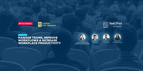 Presenting Webinar on Managing Teams and Improving Workflows billets