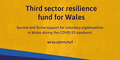 Cronfa Gwydnwch y Trydydd Sector //  Third Sector Resilience Fund tickets