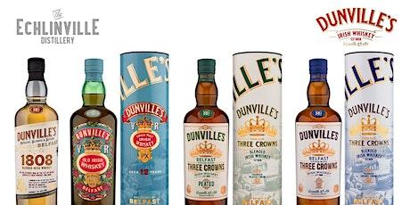An Púcán Whiskey Society  Dunville's Irish Whiskey Tasting tickets