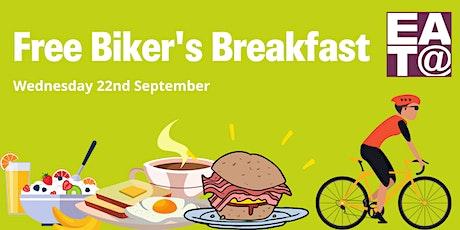 Free Bikers Breakfast tickets
