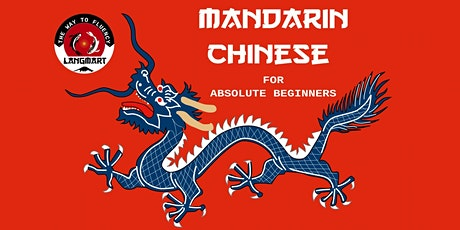 Mandarin Chinese for Absolute Beginners tickets