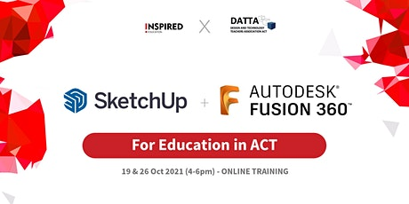 SketchUp & Fusion360 for Education in ACT tickets