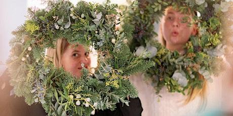 Festive Wreath Making tickets