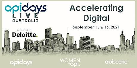 apidays LIVE AUSTRALIA 2021  - Accelerating Digital biglietti