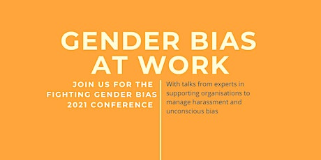 The Fighting Gender Bias 2021 Conference tickets