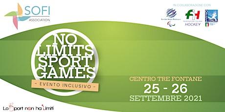 No Limits Sport Games biglietti