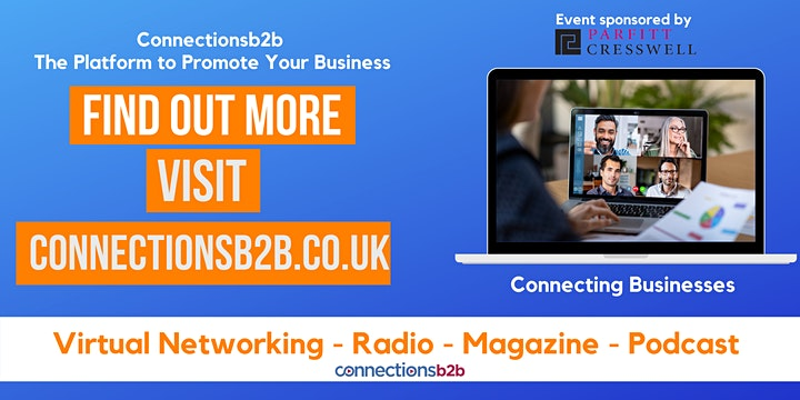 Connectionsb2b Online Networking Event image