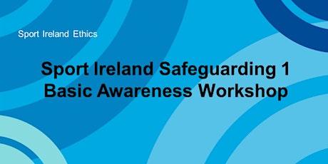 Safeguarding 1 Online Workshop, Child Protection in Sport  21.09.2021 tickets