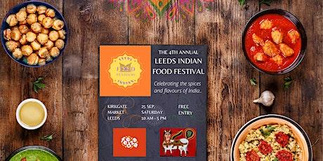 Leeds Indian Food Festival tickets