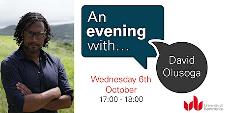 An Evening With... David Olusoga tickets