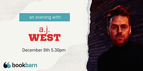An Evening with A.J. West tickets