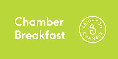 Chamber Breakfast December 2021 (in person) tickets
