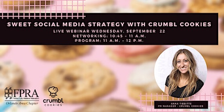 Sweet Social Media Strategy with Crumbl Cookies tickets