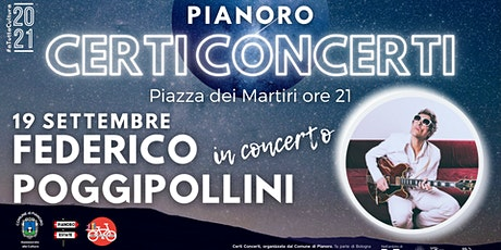FEDERICO POGGIPOLLINI in concerto biglietti