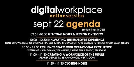 Digital Workplace Online Session | Digital Leadership & Culture Event tickets