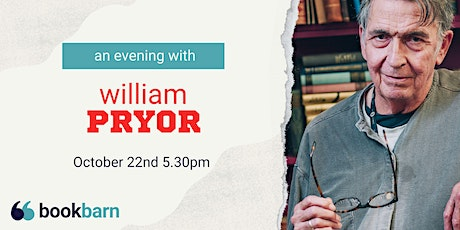 An Evening with William Pryor tickets