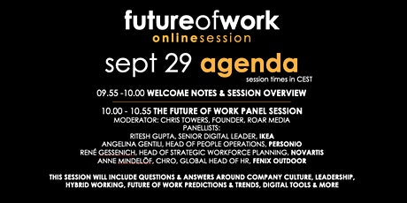 Future of Work Online Session | Culture, Leadership, Digital Transformation tickets