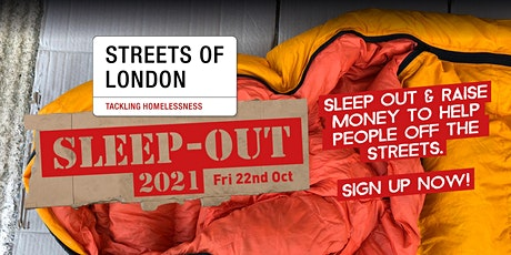 Streets of London Sleep-Out 2021 tickets