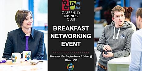 1st Networking Breakfast tickets