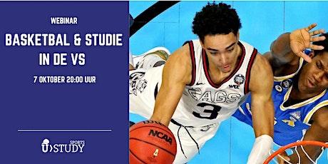 Gratis webinar Basketbal & Studie in de VS tickets