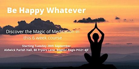 Meditate in Bognor Regis - 6 Week Meditation Course tickets