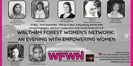 Waltham Forest Women's Network- An Evening with Empowering Women tickets