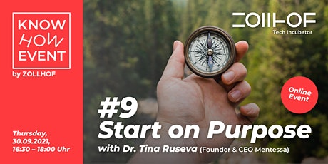 #9 Know-How Event: Start on Purpose Tickets