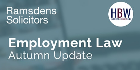 Ramsdens Employment Law Update tickets