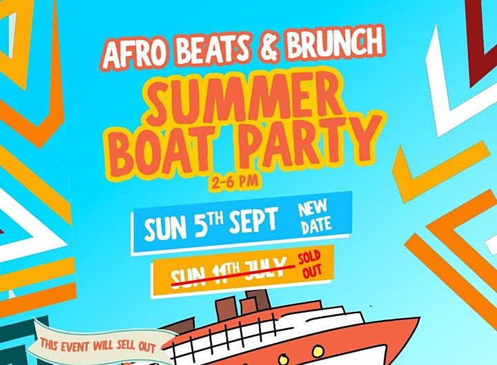 Afrobeats Summer Boat Party image