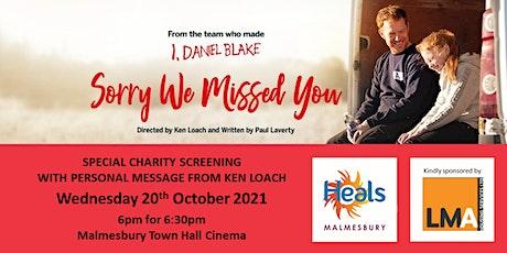 Heals of Malmesbury Charity Film Screening tickets