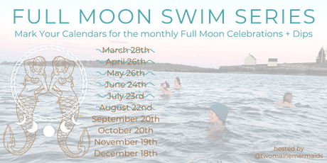Full Moon Swim Series - September Harvest Moon tickets