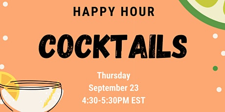 Happy Hour Cocktails! tickets