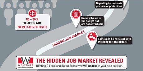 From E-Level to C-Level, Use the Hidden Job Market to Land Your Next Job tickets