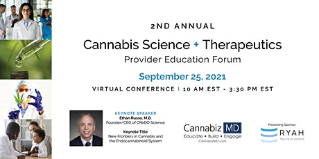 Cannabis Science + Therapeutics Provider Education Forum tickets
