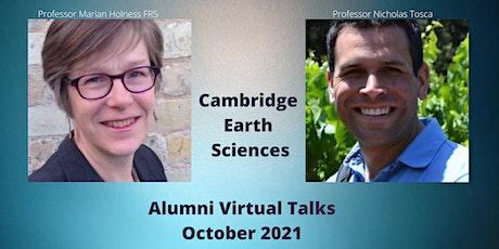 Cambridge Earth Sciences October 2021 Alumni Talk tickets