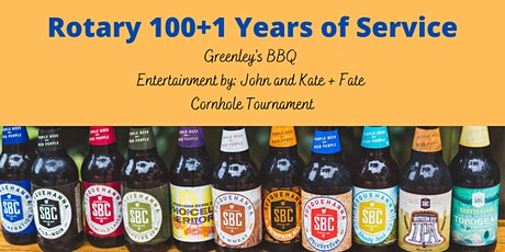 Pittston Rotary 100+1 Years of Service - BBQ at Susquehanna Brewing Company tickets