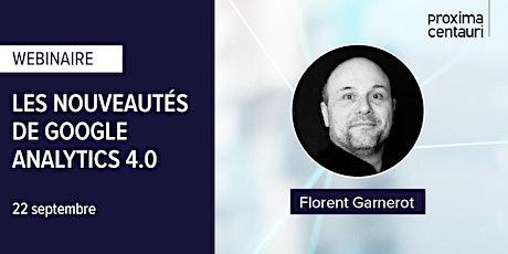 WEBINAIRE : Les nouveautés de Google Analytics 4.0 billets