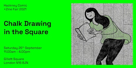 HCZF: Chalk Drawing in the Square tickets