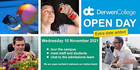 Derwen College Open Day - Wednesday 10th November 2021 tickets